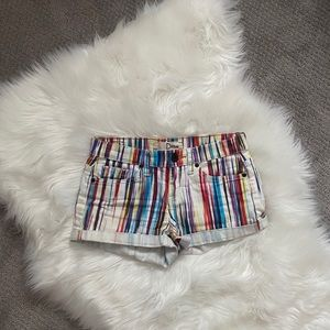 2/$20 bundle - Dittos colourful stripped shorts